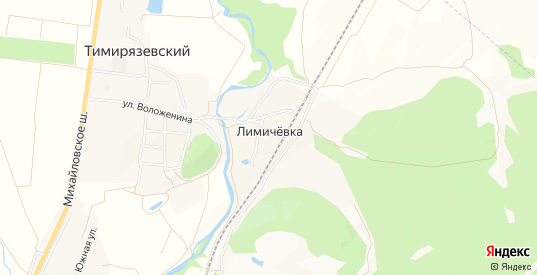 Карта железнодорожной станции Лимичевка в Уссурийске с улицами, домами и почтовыми отделениями со спутника онлайн
