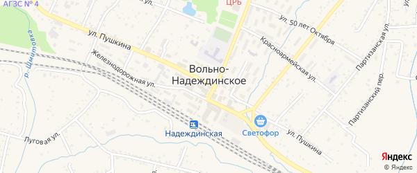 Восемнадцатая улица на карте территории ТСН Урочища Тавричанского Дубки-1 Приморского края с номерами домов