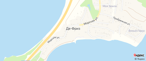Километр 32-33 на карте дороги Патрокл-Седанка-де-Фриз-П.Нового Приморского края с номерами домов