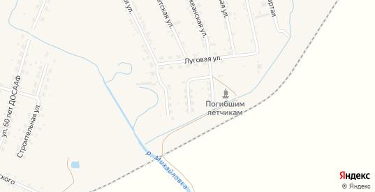 Улица Энтузиастов в селе Михайловка в Приморском крае с номерами домов на карте. Спутник и схема онлайн