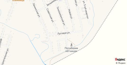 Луговая улица в селе Михайловка в Приморском крае с номерами домов на карте. Спутник и схема онлайн