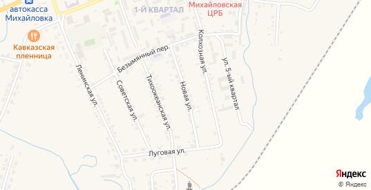 Новая улица в селе Михайловка в Приморском крае с номерами домов на карте. Спутник и схема онлайн