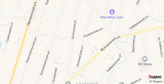Пионерская улица в селе Михайловка в Приморском крае с номерами домов на карте. Спутник и схема онлайн