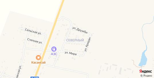Тупиковая улица в селе Михайловка в Приморском крае с номерами домов на карте. Спутник и схема онлайн