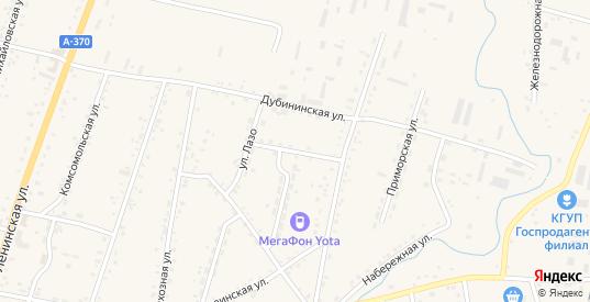 Пролетарская улица в селе Михайловка в Приморском крае с номерами домов на карте. Спутник и схема онлайн