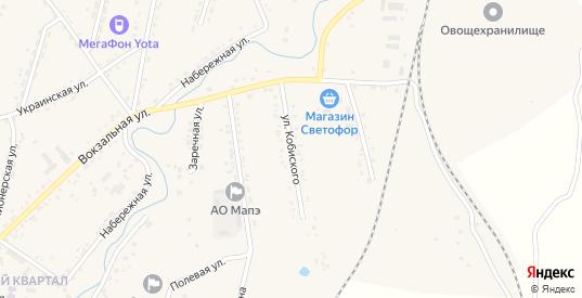 Улица Кобиского в селе Михайловка в Приморском крае с номерами домов на карте. Спутник и схема онлайн