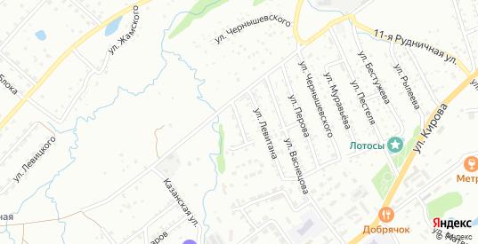 Переулок Левитана в Артеме с номерами домов на карте. Спутник и схема онлайн
