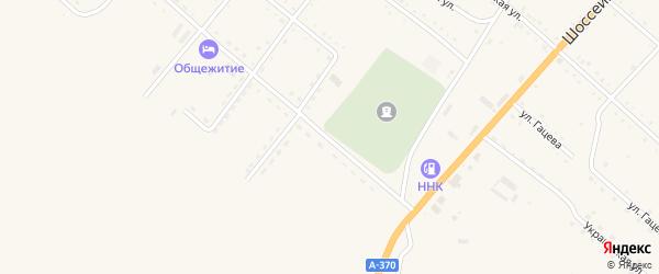 Первомайская улица на карте села Черниговки Приморского края с номерами домов