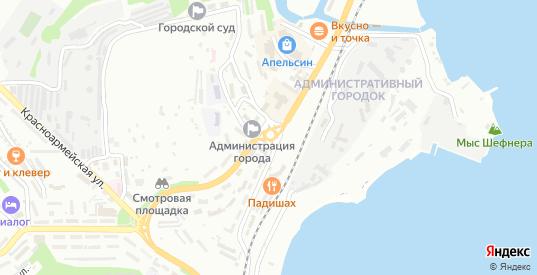 Просторная улица в Находке с номерами домов на карте. Спутник и схема онлайн