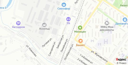 Заводская улица в Арсеньеве с номерами домов на карте. Спутник и схема онлайн