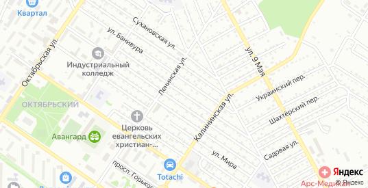 Улица Тельмана в Арсеньеве с номерами домов на карте. Спутник и схема онлайн