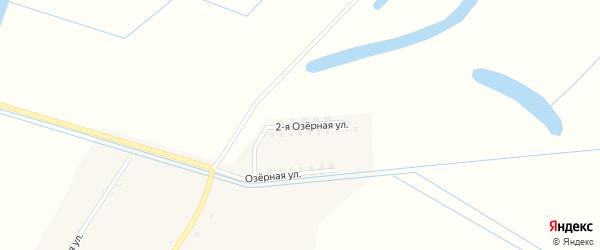 Озерная 2-я улица на карте села Пухово Приморского края с номерами домов