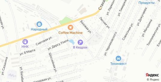 Ручейная улица в Арсеньеве с номерами домов на карте. Спутник и схема онлайн