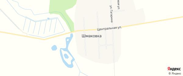 Карта села Шмаковки в Приморском крае с улицами и номерами домов