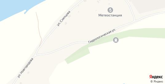 Гидрологическая улица в Верхоянске с номерами домов на карте. Спутник и схема онлайн