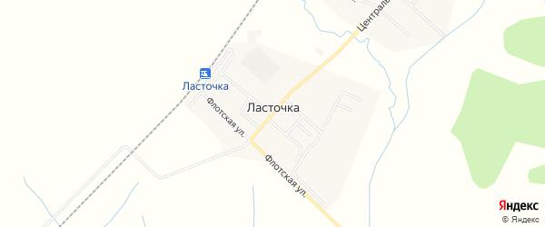 Карта села Ласточки в Приморском крае с улицами и номерами домов