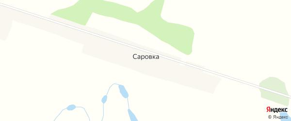 Луговая улица на карте села Саровки Приморского края с номерами домов