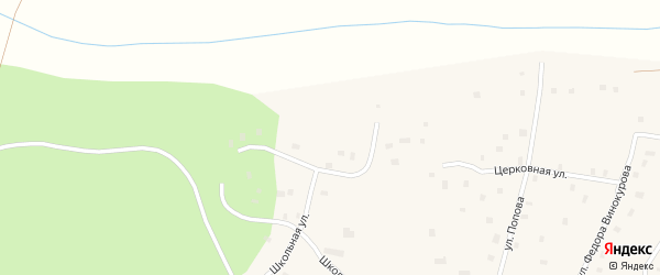 Микрорайон Даадар на карте села Креста-Хальджая Якутии с номерами домов
