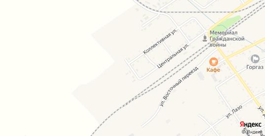 Садовая улица в Вяземском с номерами домов на карте. Спутник и схема онлайн
