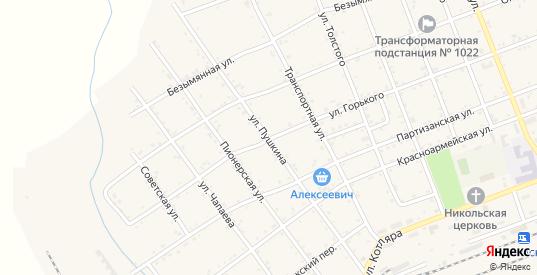 Улица Пушкина в Вяземском с номерами домов на карте. Спутник и схема онлайн