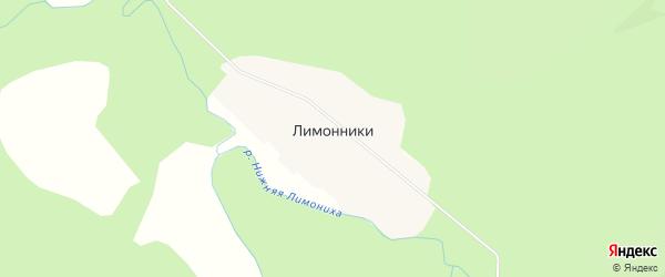 Карта села Лимонники в Приморском крае с улицами и номерами домов