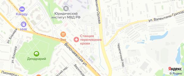 Цимлянская улица на карте Хабаровска с номерами домов
