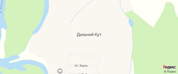 Почтовая улица на карте села Дальнего Кута Приморского края с номерами домов