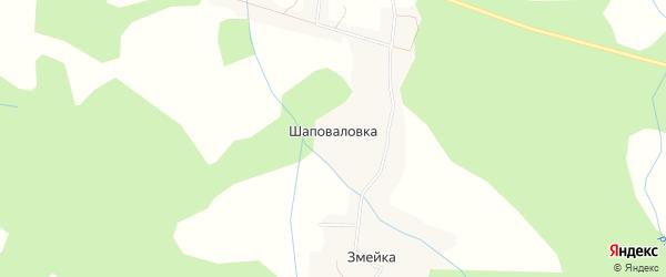 Карта села Шаповаловки в Хабаровском крае с улицами и номерами домов