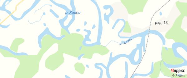 Карта села Ульбинки в Хабаровском крае с улицами и номерами домов