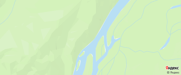 Карта садового некоммерческого товарищества Ветерана в Хабаровском крае с улицами и номерами домов
