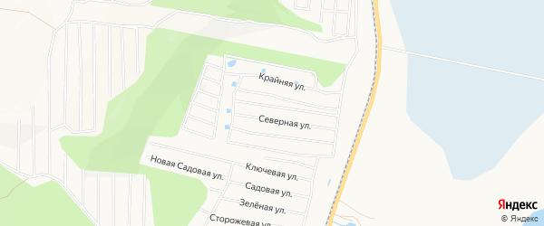 Карта садового некоммерческого товарищества Энергетика в Хабаровском крае с улицами и номерами домов
