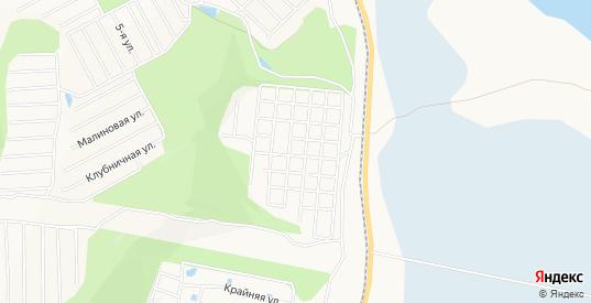 Карта территории Снт Металлург-1 в Комсомольске-на-Амуре с улицами, домами и почтовыми отделениями со спутника онлайн