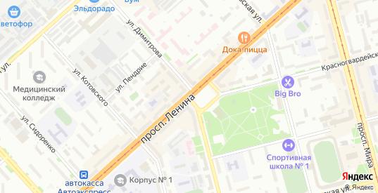7-я Вишневая улица в территории Снт АО АСЗ Сад 7 в Комсомольске-на-Амуре с номерами домов на карте. Спутник и схема онлайн