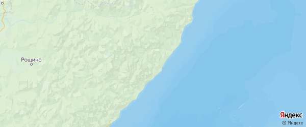 Карта Тернейского района Приморского края с городами и населенными пунктами
