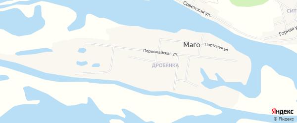 Карта поселка Маго в Хабаровском крае с улицами и номерами домов
