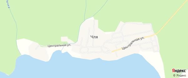 Карта села Чля в Хабаровском крае с улицами и номерами домов