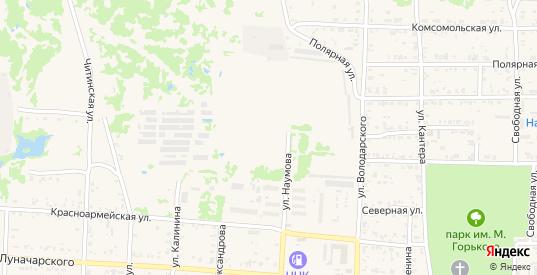 Центральная улица в Николаевске-на-Амуре с номерами домов на карте. Спутник и схема онлайн