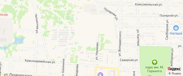 Центральная улица на карте Николаевска-на-Амуре с номерами домов