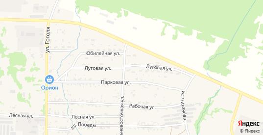 Луговая улица в Николаевске-на-Амуре с номерами домов на карте. Спутник и схема онлайн