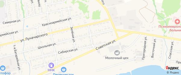 Улица Маяковского на карте Николаевска-на-Амуре с номерами домов