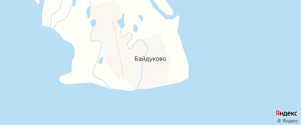 Карта села Байдуково в Хабаровском крае с улицами и номерами домов