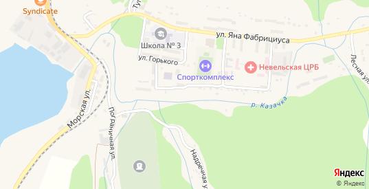 Улица Ломоносова в Невельске с номерами домов на карте. Спутник и схема онлайн