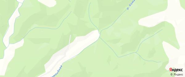 Рябиновая улица на карте Невельского района Сахалинской области с номерами домов