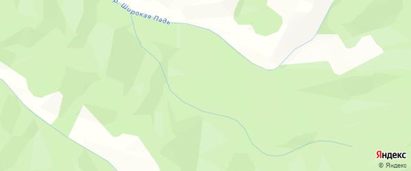 Карта садового некоммерческого товарищества Солнышка в Сахалинской области с улицами и номерами домов