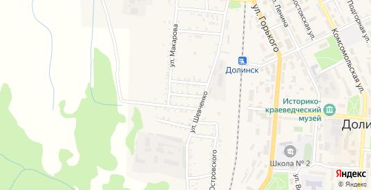 Трудовая улица в Долинске с номерами домов на карте. Спутник и схема онлайн