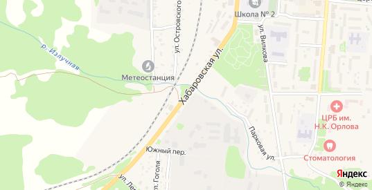 Хабаровская улица в Долинске с номерами домов на карте. Спутник и схема онлайн