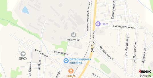 Бумажная улица в Долинске с номерами домов на карте. Спутник и схема онлайн