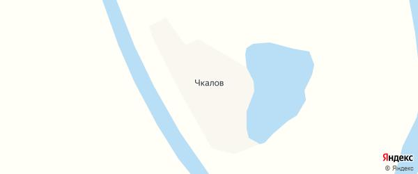 Карта села Чкалова в Якутии с улицами и номерами домов