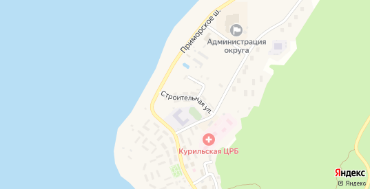 Строительная улица в Курильске с номерами домов на карте. Спутник и схема онлайн