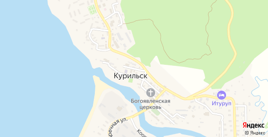 Охотская улица в Курильске с номерами домов на карте. Спутник и схема онлайн